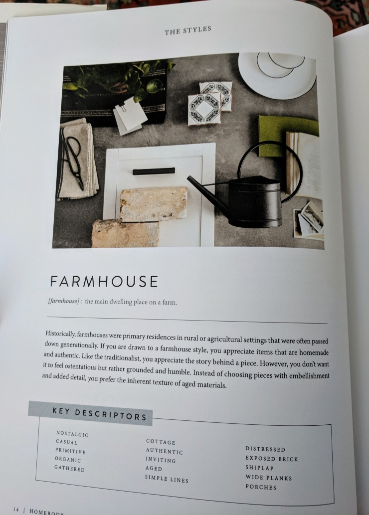 Farmhouse Homebody book Joanna Gaines